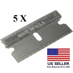 Razor Blades Single Edge Extra Sharp Super Strong  Made in USA!!