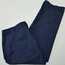Adidas Navy Blue Polyester Pants - Climalite - 40x32
