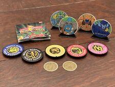 Mighty Morphin Power Rangers Lot Of Accessories Bandai Saban 1993 1994 Catalog
