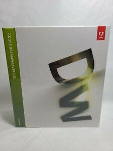 Adobe Dreamweaver CS5 for Windows CD ROM New SEALED 2010 Fast 🚢.