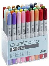 COPIC CIAO PENS 36 SET B - MANGA GRAPHIC ARTS + CRAFT MARKERS - FAST SHIPPING