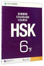Hsk Standard Course 6b Manuel Scolaire par Jiang Liping Livre de Poche