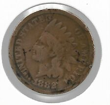 Rare Old Antique US 1882 Indian Head Penny Cent Collectible Collection Coin T56