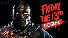 AUTHENTIC Friday The 13th The Game Tom Savini + Counselor Clothing PS4