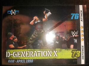 Slam Attax 10 WWE WWF OMG-Card Nr. 72 D-Generation X Sammelkarte Trading Card