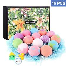 Bath Bombs for Kids with Animal Toys, 15 Pack Bubble Bath Bombs with Surprise