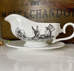 Alice In Wonderland Gravy Boat - Rare And Unusual