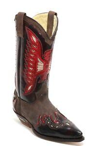 245 Westernstiefel Cowboystiefel Line Dance Catalan Style Leder 2764 Sendra 39