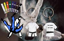 Personalised Judo - Karate - Ju Jitsu - Kickboxing double sided Black Belt