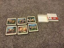 New listing Pimpernel Deluxe 1986 M.J. Hummel Coasters Set Of 6 In Box