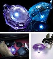 GlitzSee Motion Activated Purse Light Gem Diamond Key Finder Handbag Keychain