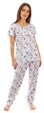 i-Smalls Ladies Floral Print Short Sleeves Cotton Pyjama Set