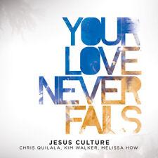 Jesus Culture - Your Love Never Fails CD + DVD  2008  [JC-10004-4] ** NEW **