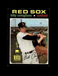 1971 Topps Baseball #114 Billy Conigliaro (Rookie Cup) (Red Sox) EXMT