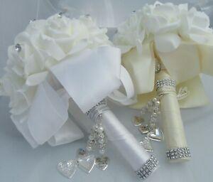 PERSONALISED BRIDAL WEDDING PHOTO LOCKET BOUQUET FAMILY MEMBER MEMORY CHARM GIFT
