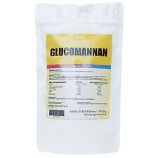 250 Tabletten GLUCOMANNAN (KONJAK) Sättigung Fatburner - Appetitzügler + Vegan +