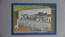 Publicité Avant de vous embarquer pour l'Afrique occidentale française (ca 1930)