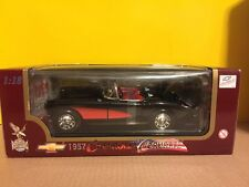 Yat Ming Road Legends 1957 Chevrolet Corvette 1:18 Scale Diecast 57 Chevy Vette