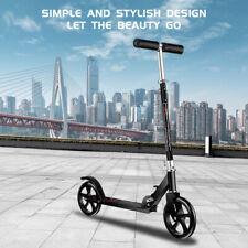 Adult Ride Kick Scooter Outdoor Folding Portable Lightweight Adjustable 2 Wheels