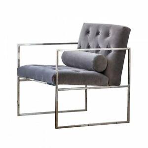 Frank Hudson Gallery Direct Sergio Mirage Velvet Armchair