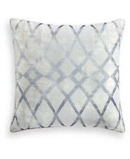 Hotel Collection Dimensional Cotton Blend Euro Pillow Sham Blue $135