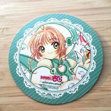 Rare cardcaptor sakura manga style animate cafe coaster not for sale Ex cond. Nm