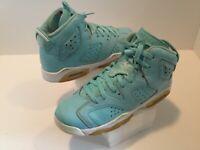 Kid's Jordan Vl Retro Athletic Shoes Boy's Size 7Y Nubuck  #543390-407