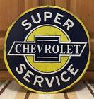Chevrolet Super Service Pub Bar Vintage Style Garage Man Cave Signs Car Truck