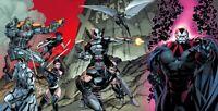 Uncanny X-Force Exclusive Virgin Variant 3-Piece Connecting Set