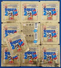 Tekma, Russia 2018, lot 10 packs/bustina/sobres/tüten/pochettes (NOT PANINI)