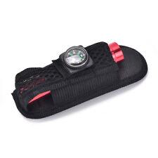 Outdoor Flashlight Pouch Flashlight Holster Torch Pouch with compass Waist Belt