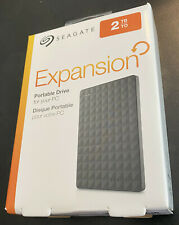 Seagate Expansion 2TB USB 3.0 External HDD Brand New STEA2000400 763649064887