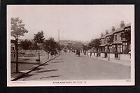 Saltley - Alum Rock Road - real photographic postcard
