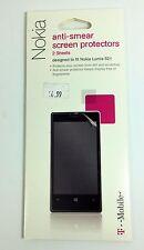 T-Mobile  Nokia Anti Smear Screen Protector for Nokia Lumia 521 - 2 Pack