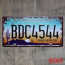 Metal Tin Sign arizona plaque Decor Bar Pub Home Vintage Retro Poster Cafe ART