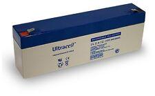 Ultracell UL2.4-12V Batterie au plomb étanche 12V 2,4AH 178x35,5x66mm (2400mAh)