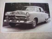 1952 FORD SOUTH CAROLINA HI-WAY PATROL CAR  11 X 17  PHOTO   PICTURE