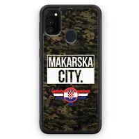 Makarska City Camouflage Kroatien Silikon Hülle für Samsung Galaxy M21 Motiv ...