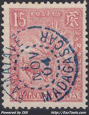 MADAGASCAR N° 68 AVEC CACHET BLEU DE TAMATAVE DU 01/11/1904