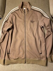 Mens Adidas Brown Lake Tahoe Original Track Jacket Medium M Rare