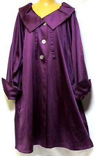 plus sz M / 20 TS TAKING SHAPE Theatre Coat satin luxe lined jacket NWT! rrp$300