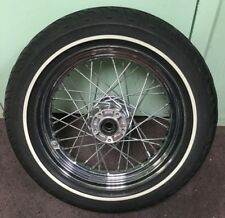 "Harley Davidson 2007 Street Glide Factory Front 16"" Motorcycle Wheel & Tire"