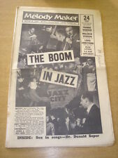 MELODY MAKER 1958 MARCH 29 JAZZ BOOM FRANKIE VAUGHAN LOUIS ARMSTRONG +