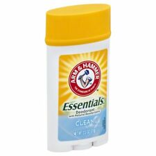 Arm & Hammer Essentials Deodorant, Clean, 2.5 oz (2 Pack)