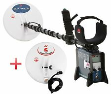 Minelab GPX-4500 Metal Detector for prospecting; 2 search coils; FREE SHIPPING