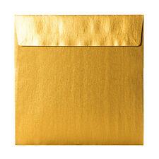 Ogni 100 quadrate colorate BUSTE scrisse 155x155 mm 120g umide resine