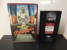 Renegade -  EX Rental - Large Box - VHS Tape - Vestron #