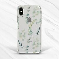 Plant Eucalyptus Floral Leaf Girly Flower Case For iPhone 6 7 8 Xs XR 11 Pro SE