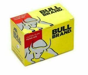 BULL BRAND ULTRA SLIM FILTER TIPS LOOSE TIPS NEW FREE P&P 20 PACK