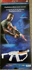 New Sony PlayStation Move Sharp Shooter Light Gun PS3
